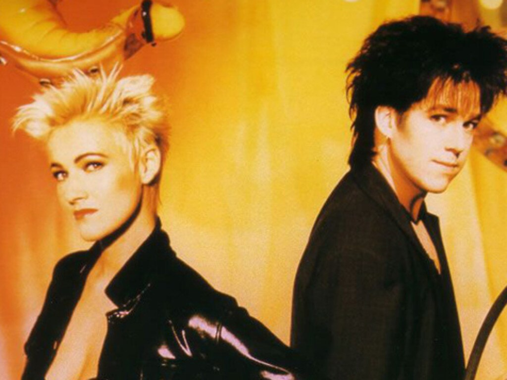 Roxette in their heyday. Picture: Supplied