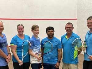 Chinchilla squash squads battle it out in finals