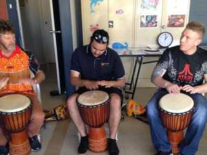Drumming to help overcome life's challenges