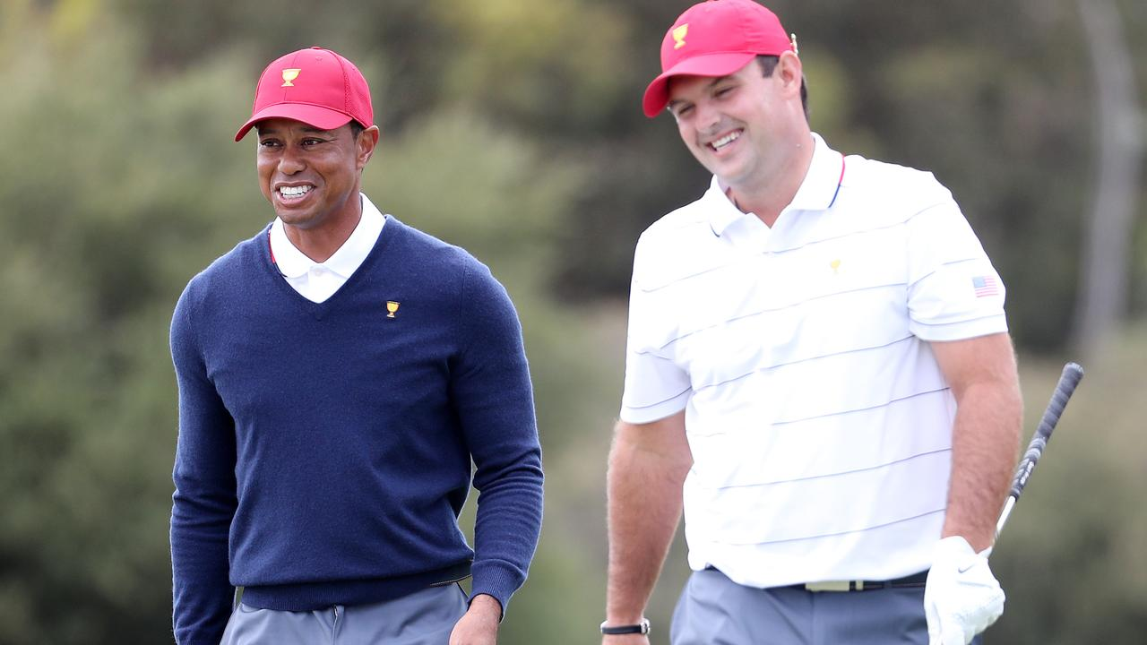 Tiger Woods has spoken to US teammate Patrick Reed. Picture: Michael Klein