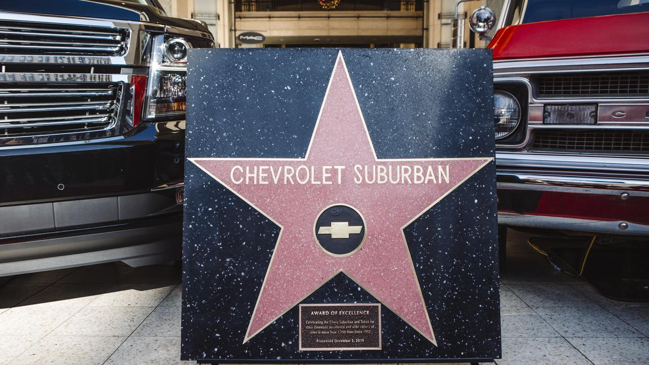 The Suburban is the first car to be awarded a star on the Hollywood Walk of Fame.