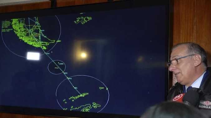 Plane disappears on way to Antarctica
