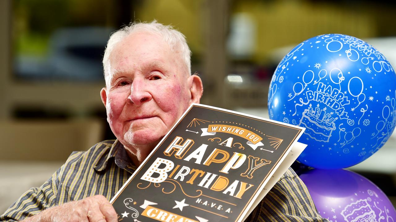 Colin Fulford celebrating his 103rd birthday.