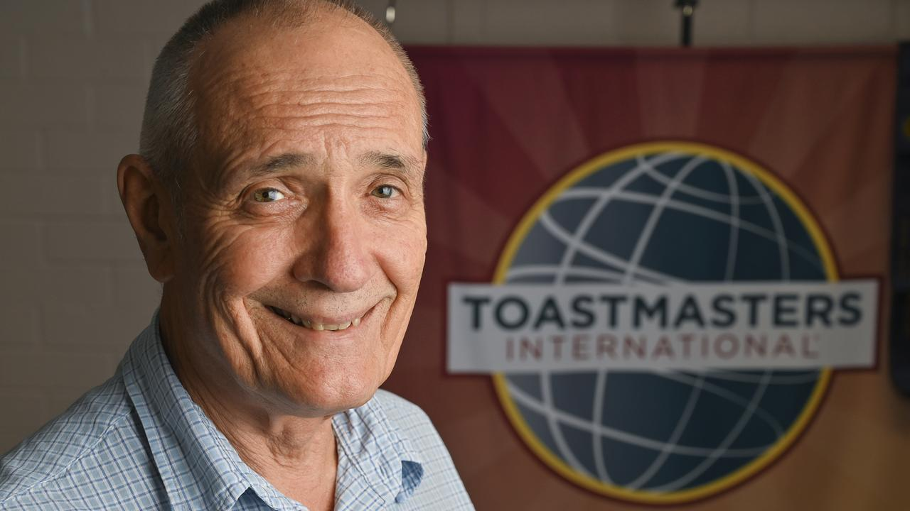 Ipswich Toastmasters Morning Talkers President Bill Williams. Picture: Cordell Richardson