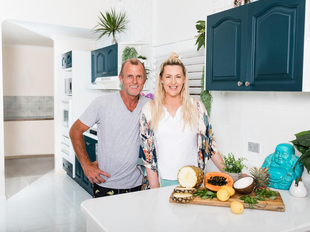 The couple in their new kitchen. Picture: Supplied / Triple M