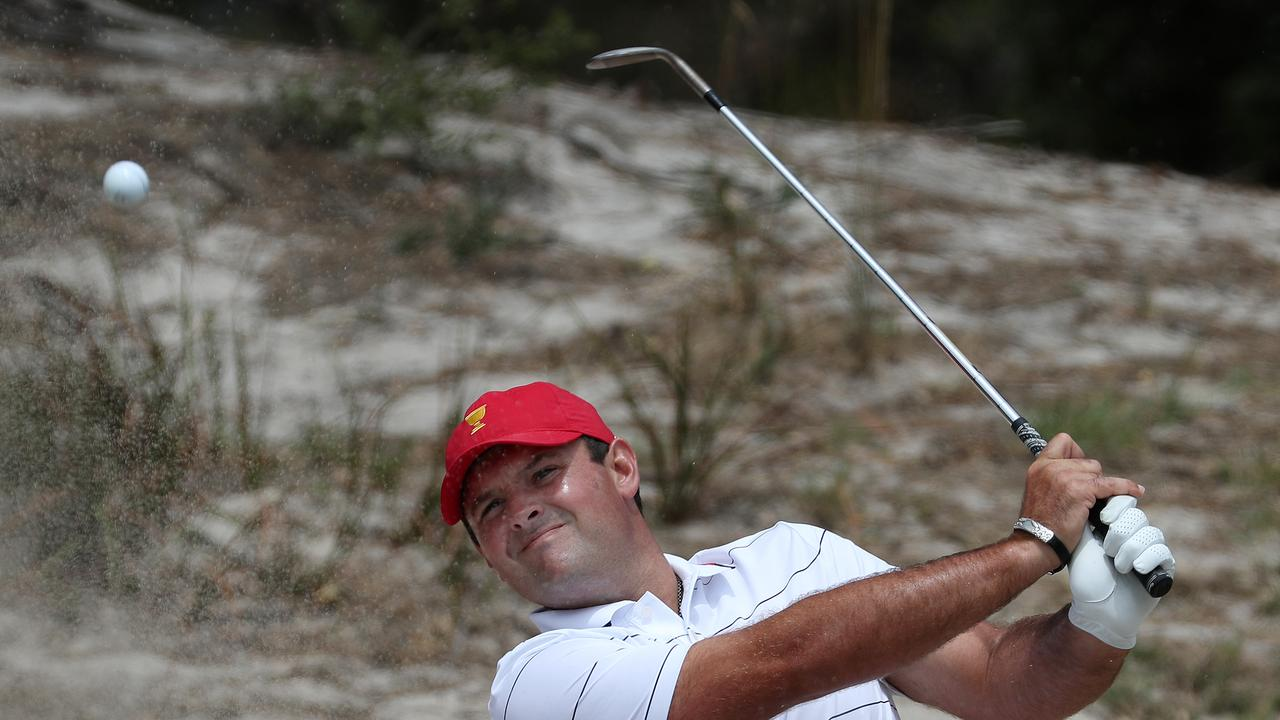 Patrick Reed has hit back at critics. Picture: Michael Klein