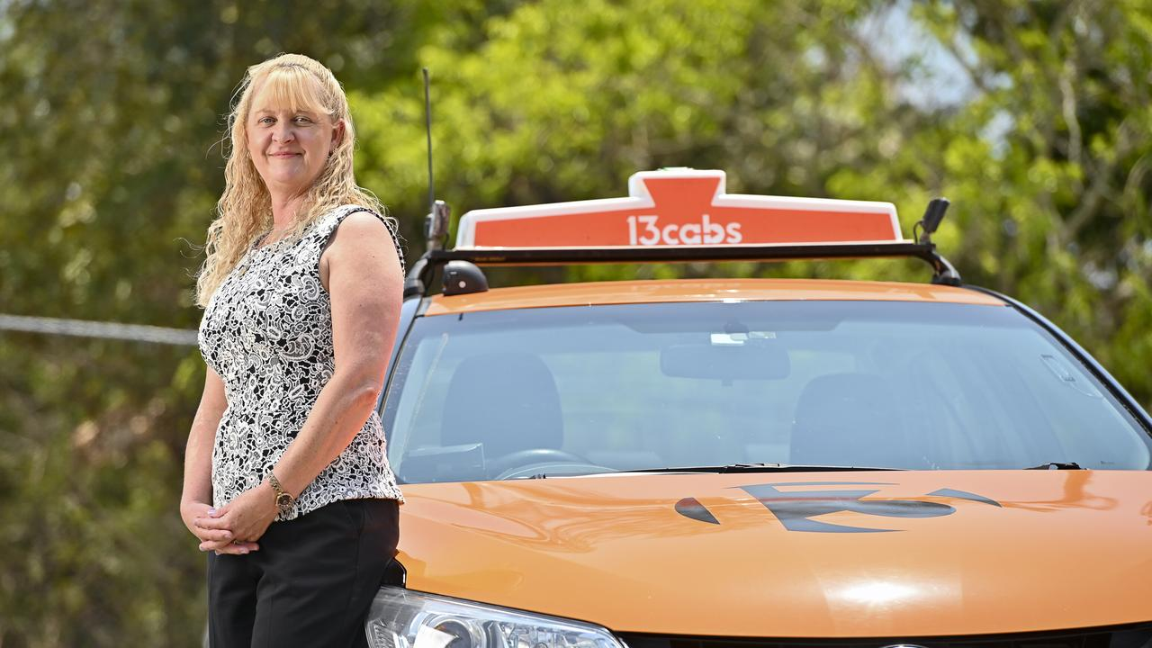 Debbie Morrison from 13 CABS Ipswich received two awards at the annual Taxi Council of Queensland Industry Awards. Picture: Cordell Richardson