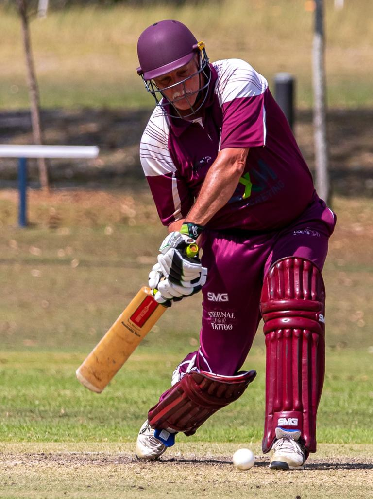 Gympie Regional Cricket - Colts v Murgon Colts Gary McClintock. Photo: Zahner Photography