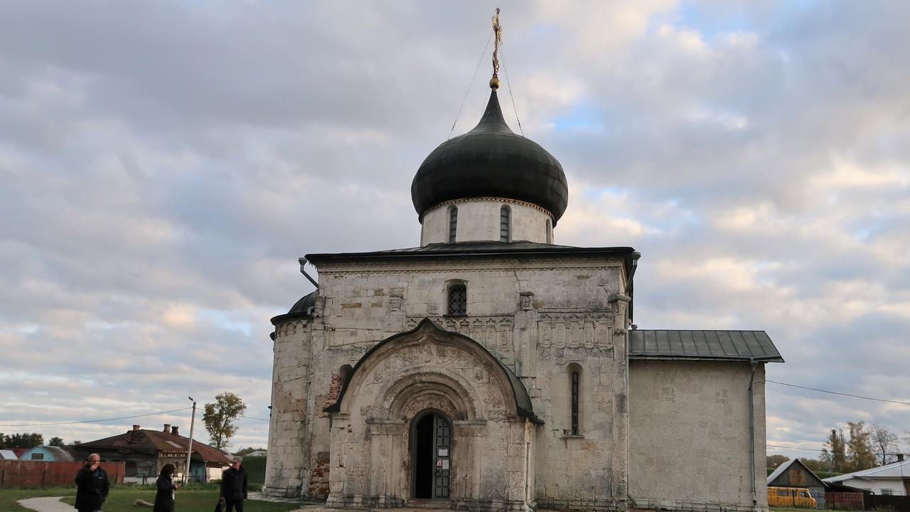 This church, just outside of Suzdal, was built in about 1234 and was the first one constructed from limestone.