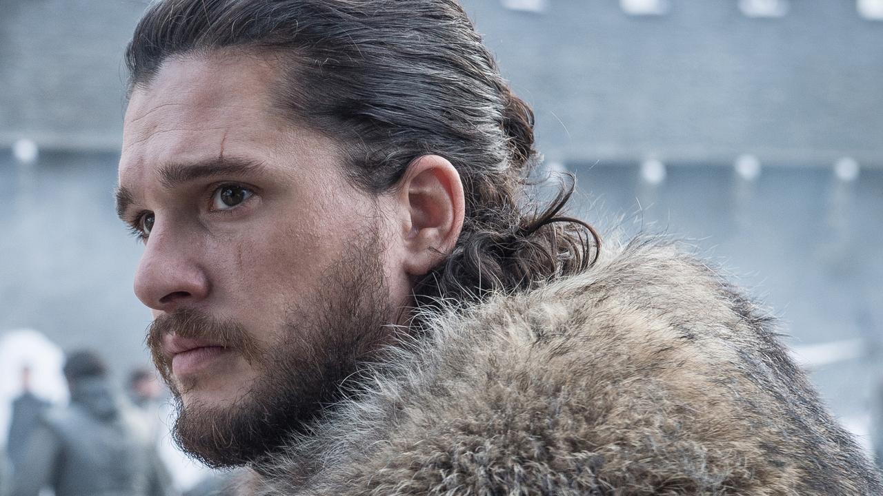 Kit Harington as Jon Snow in Game Of Thrones. Photo: Helen Sloan/HBO