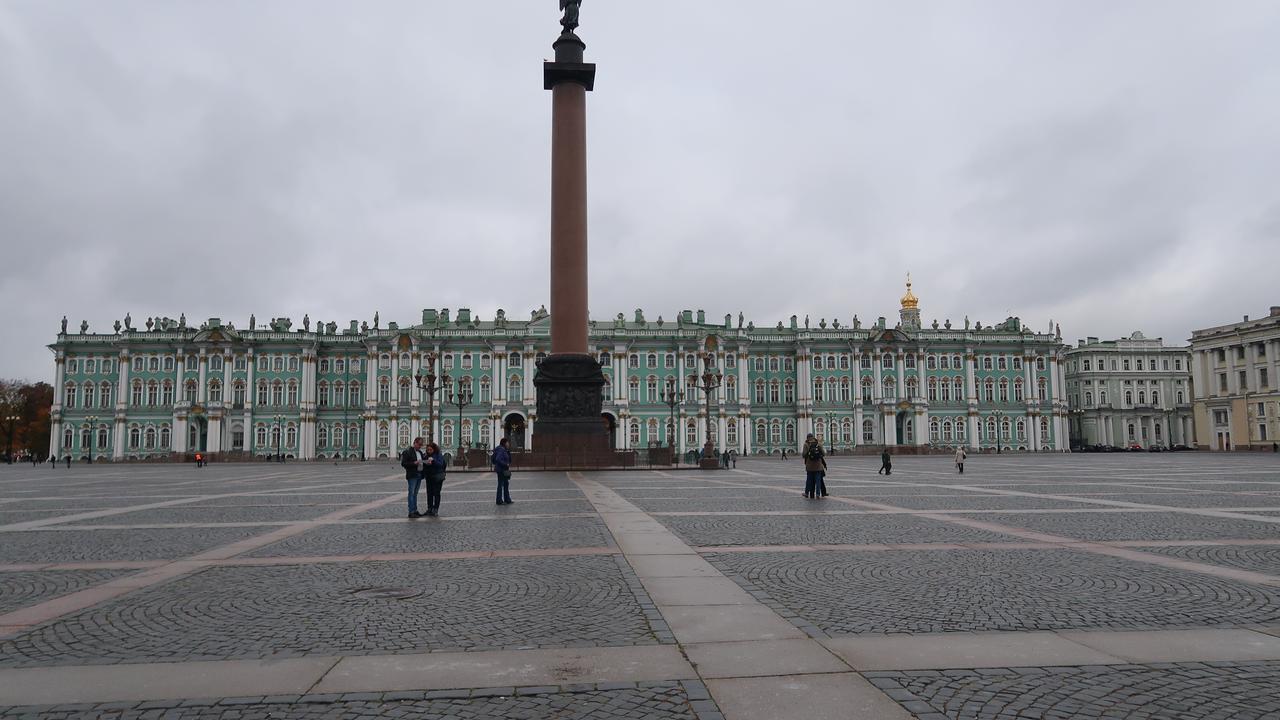 St Petersburg's massive The Hermitage Museum.