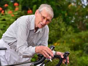 Elderly cyclist disgusted after beer bottle attack