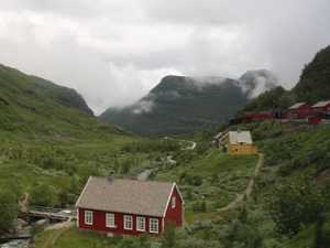 Line up for the Flam Railway