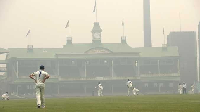 'Worse than Delhi': SCG chokes on 'toxic' smoke