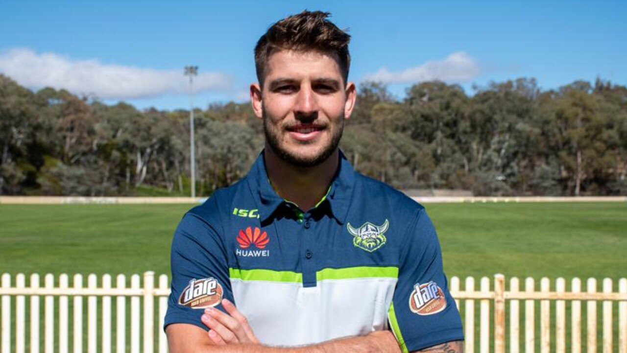 Curtis Scott has joined the Raiders. Picture: Canberra Raiders