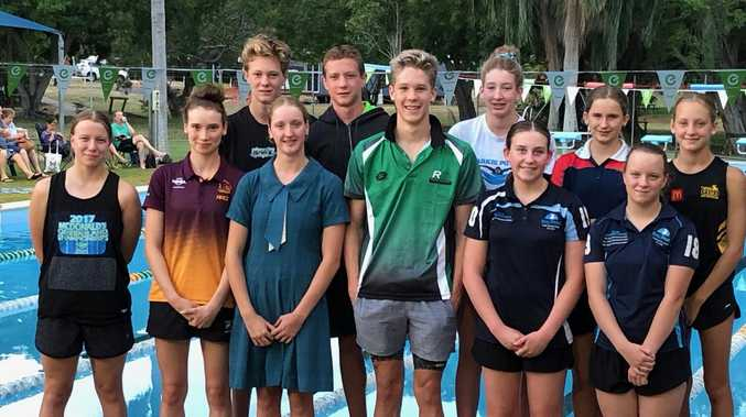 Emu Park swimmers heads to state champs