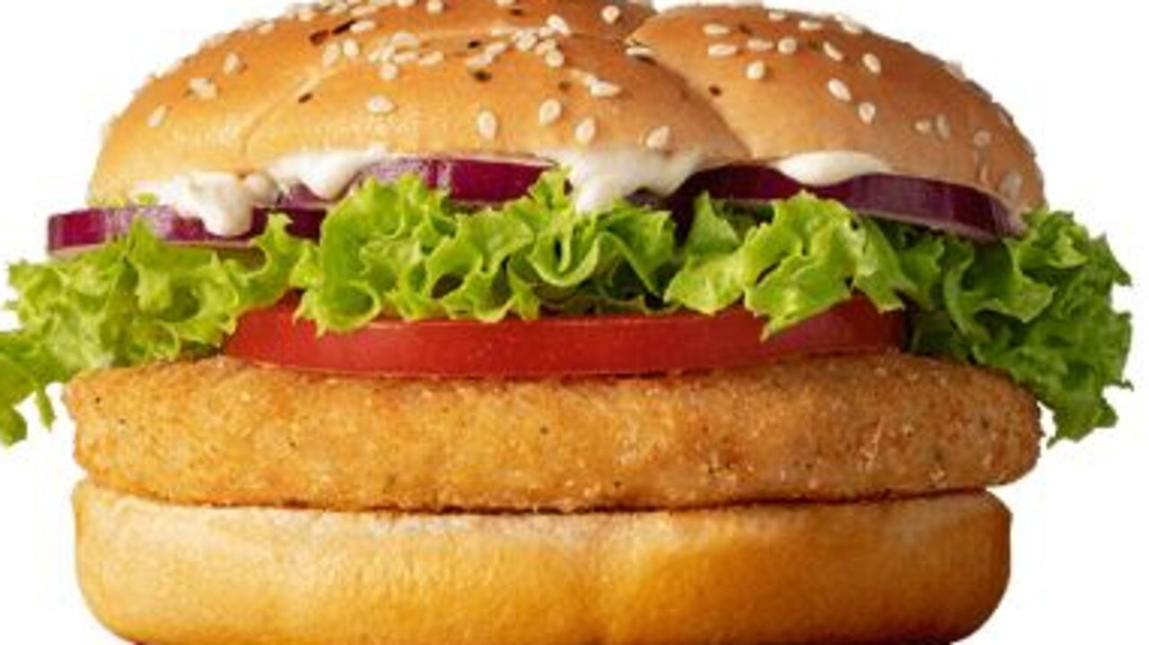 McDonald's NZ has released a McVeggie burger but there's a big problem with it. Picture: Supplied