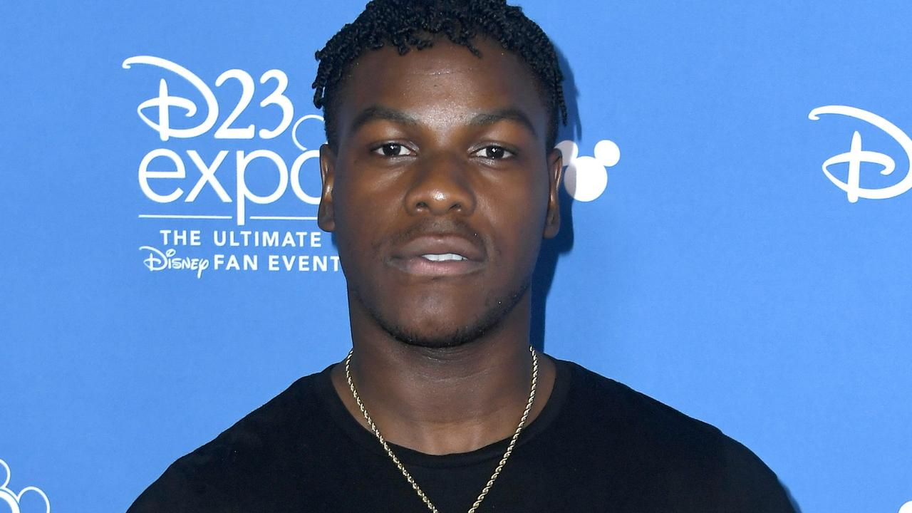 Boyega says he lost his script moving house, causing an online incident. Picture: Getty