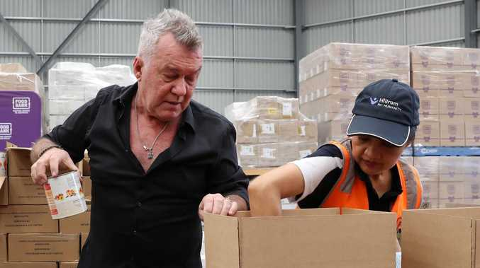Aussie rockers Chisel help families in need