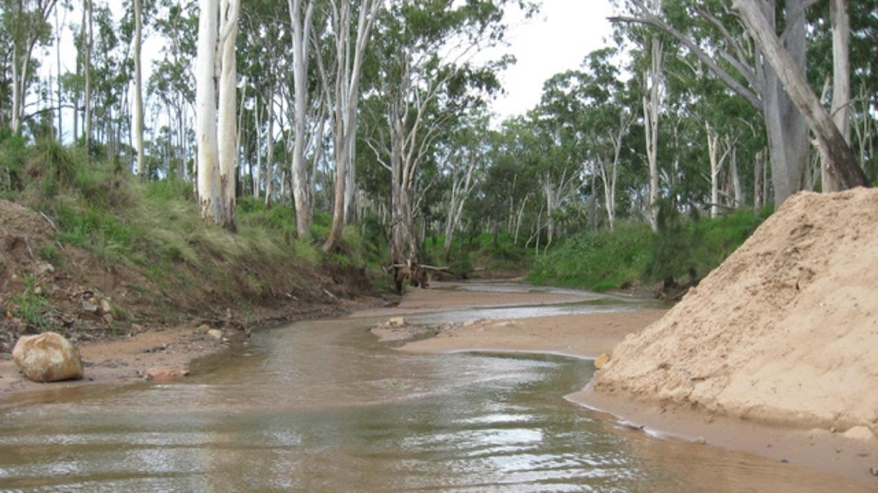 WATER SCHEME: Groups says Indian miner plans to suck up to 12.5 billion litres of water annually from the Suttor River. Pictured is the Suttor River. Picture: Christine Carlisle