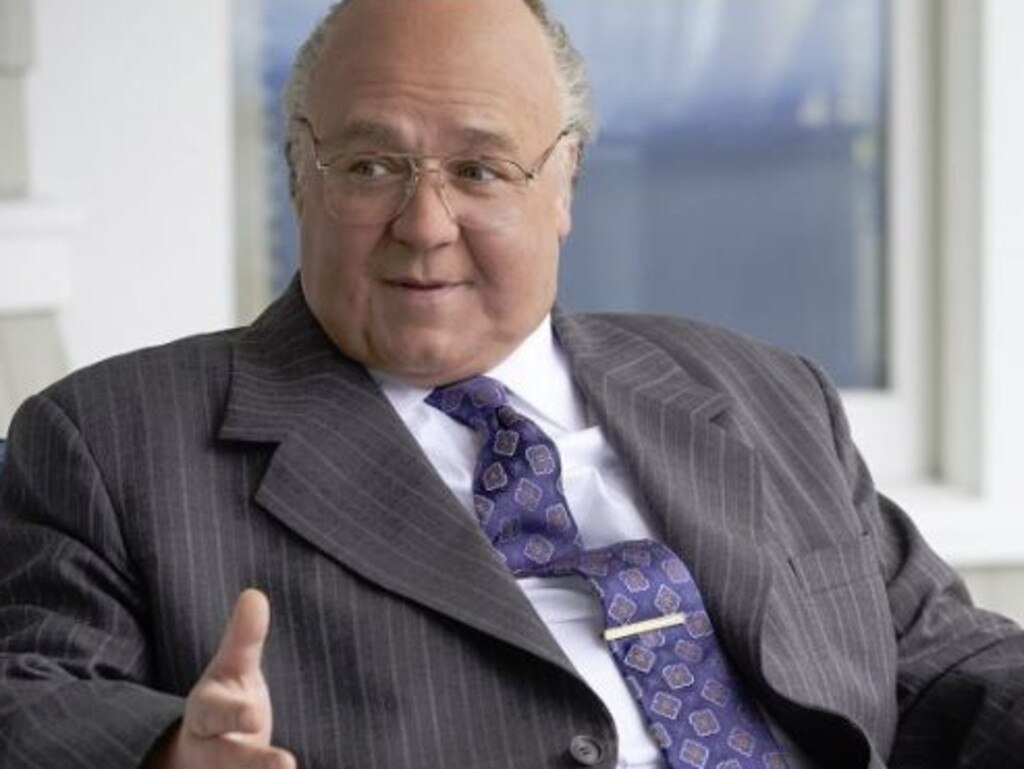 Russell Crowe's performance as Fox News boss Roger Ailes has scored him a Golden Globe nomination. Picture: Supplied