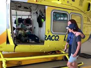 LifeFlight patient meets hero