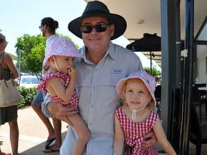 Poppy Ross with Chelsea and Abbey at Emu Park