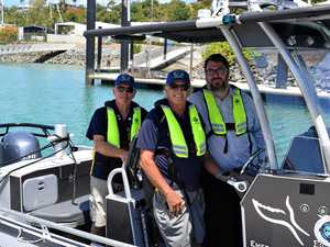 New VMR boat nails first rescue in Whitsundays
