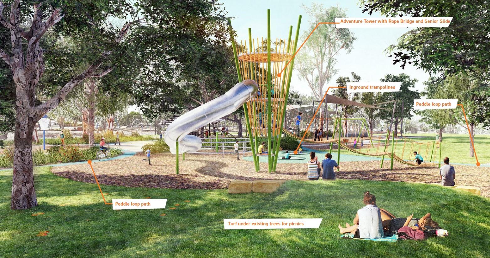 New concept designs for Boreham Park.