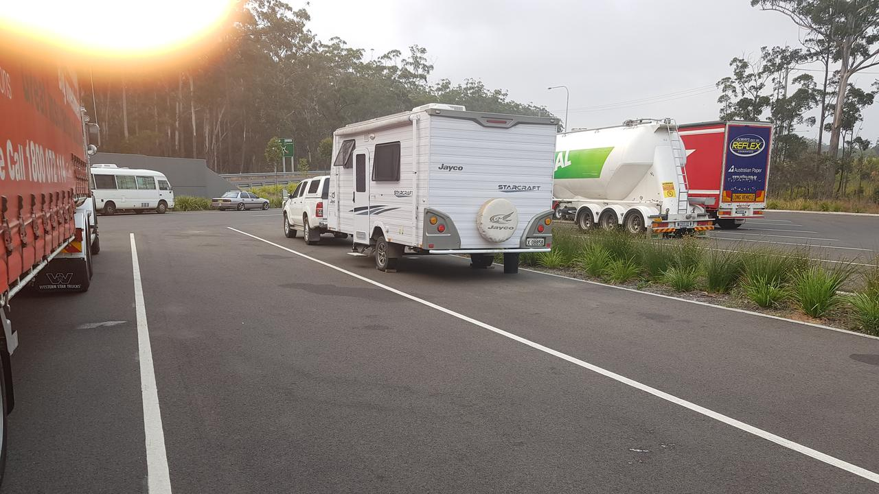 Lockyer Valley Regional Council made the decision to request campers stay overnight at the rest area near Helidon.