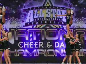National success for cheerleading team