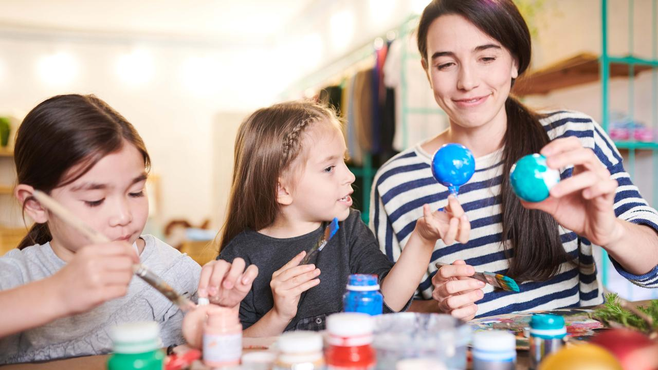 Innocent Christmas craft or damaging socialisation of young girls? Picture: iStock