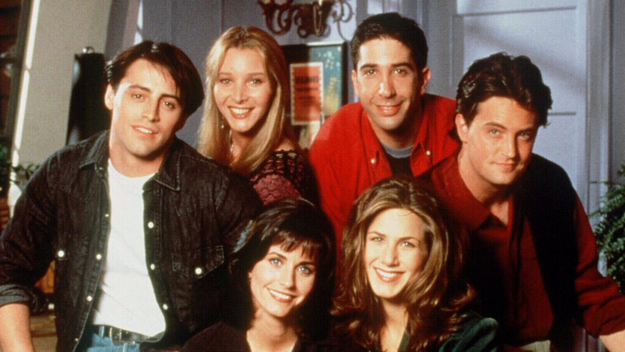 The cast of Friends. Picture: Supplied.