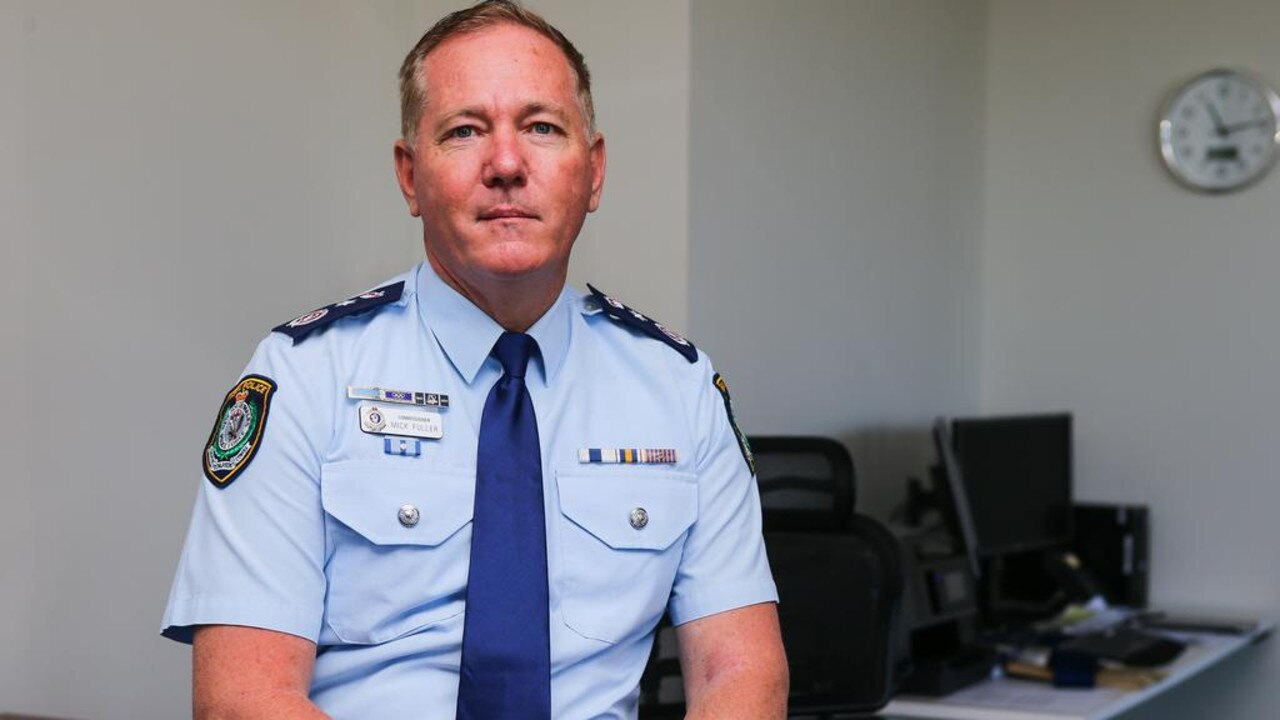 NSW Police Commissioner Mick Fuller. Picture: Gaye Gerard