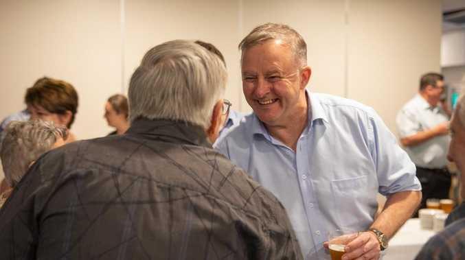 Albanese talks coal and climate in Emerald