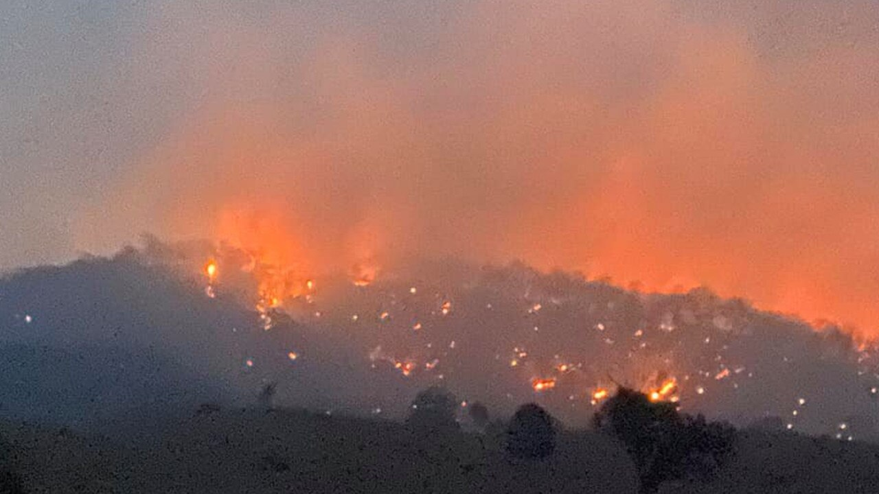 More than 80 people turned out over three days to battle the blaze at Eidsvold East on the Payne family's property, 'Kerwee'.