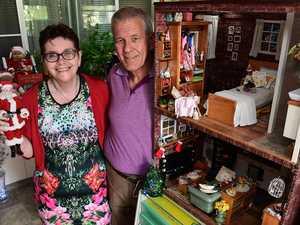 WATCH: Bundy couple's amazing Barbie doll Christmas
