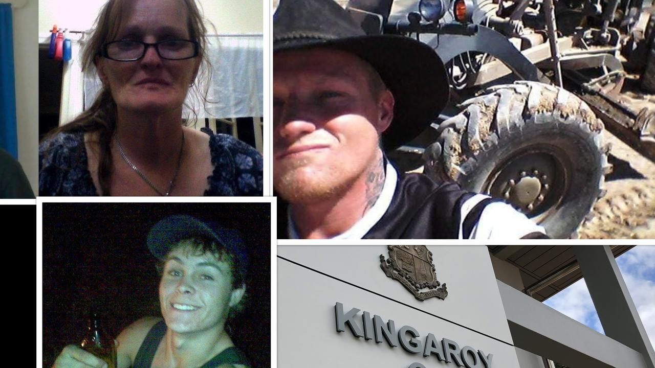 BAD BEHAVIOUR: Deborah Rose Petith, Tyron Jade Bellerby and John Luke Hodges were some of many mums and dads to appear in South Burnett courts this year. (Photos: Facebook/File)