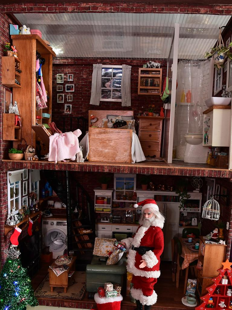 TINY HOUSE: Rieckie Muchow's latest miniature display.