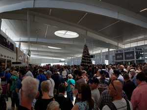 Mass evacuation at airport after security breakdown