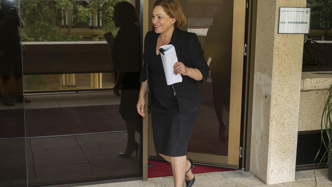 Treasurer Jackie Trad