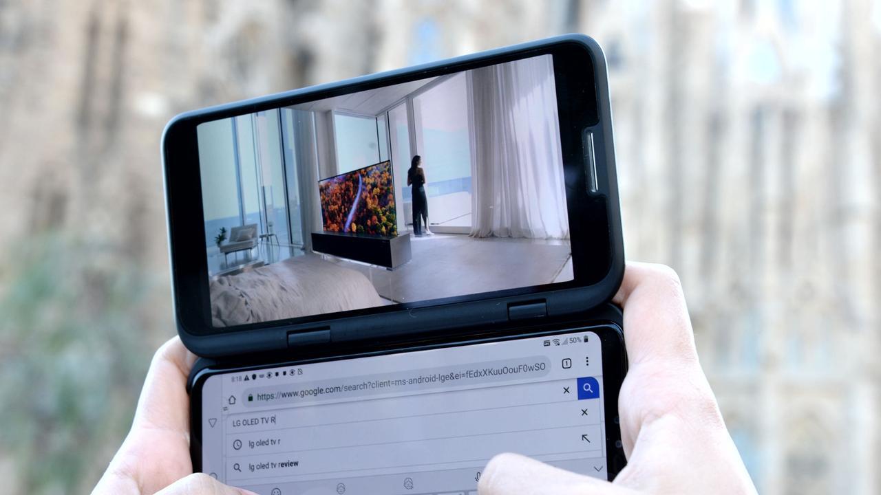LG V50 ThinQ 5G smartphone.