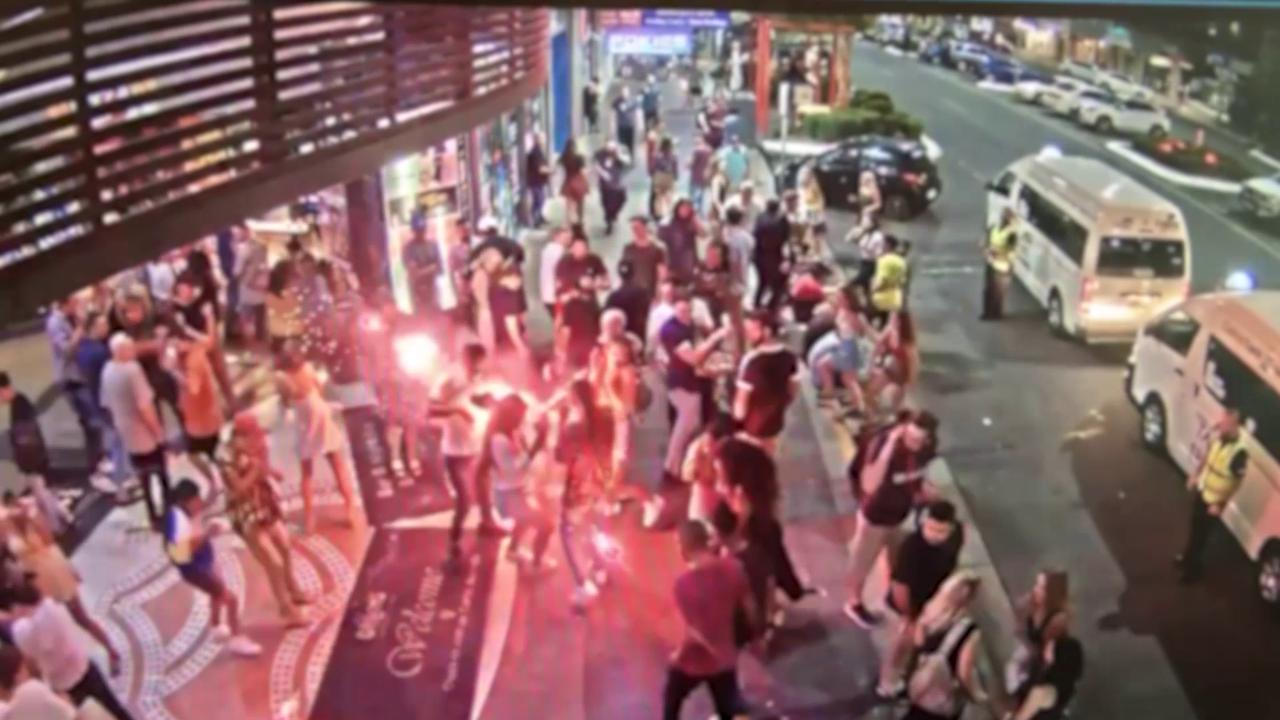 Cairns Police have charged a man following the detonation of what is believed to be a firework outside a CBD night club last month.