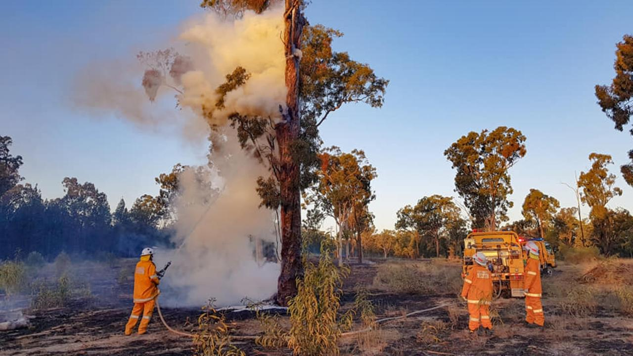 ON CALL: Karara Rural Fire Service volunteers help at fire situations across the region, sometimes at personal cost.