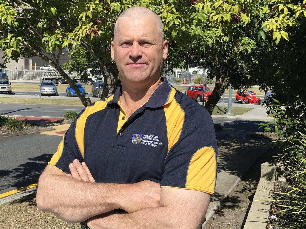 Kenmore State High School's former P & C vice president Michael Sheehan said more than 80 per cent of students and parents were against the formal uniform being enforced five days a week in 2020. Picture: Darren Cartwright