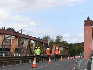 Bridge to close over weekend