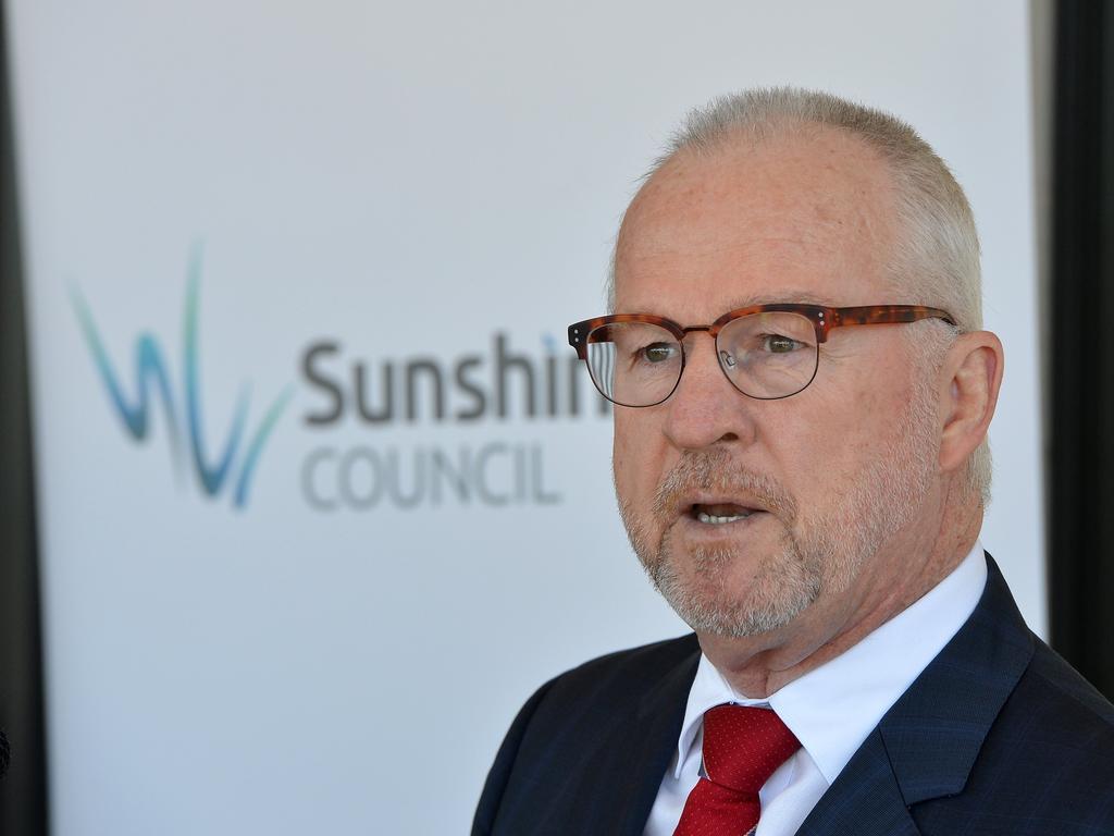 Sunshine Coast Mayor Mark Jamieson is yet to decide whether he'll be running next term.