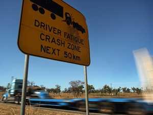 Driver 'shaken' after late night highway crash
