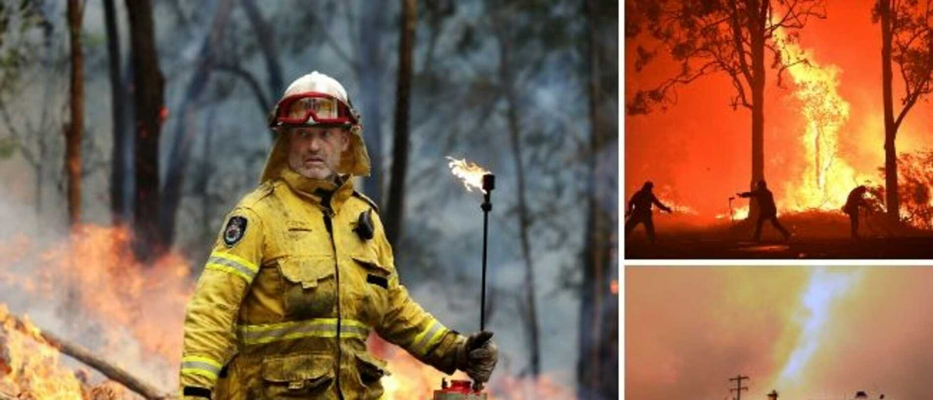 The extreme risk faced by firefighters during one of the toughest bushfire seasons on record have been honoured at the 2019 National Pride of Australia Awards.
