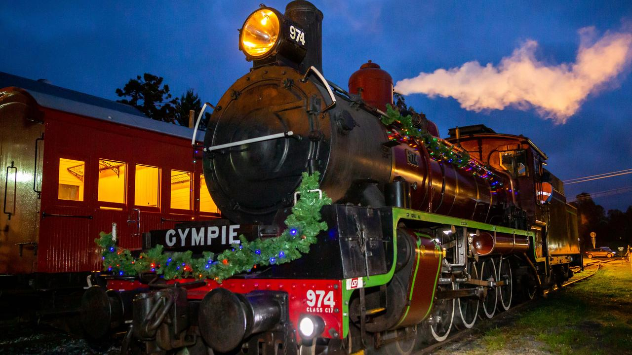 The festive-looking Twilight Train. Picture: Contributed